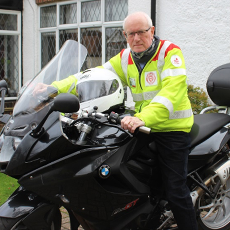 A day & night in the life of a Blood Biker