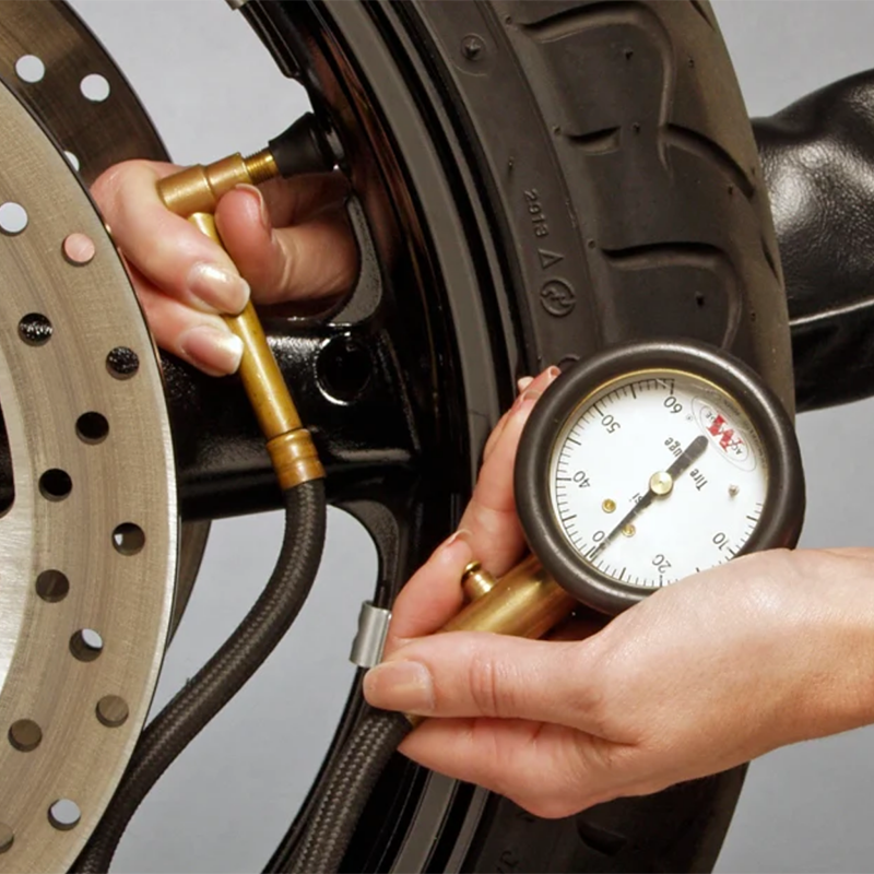 The importance of tyre pressures