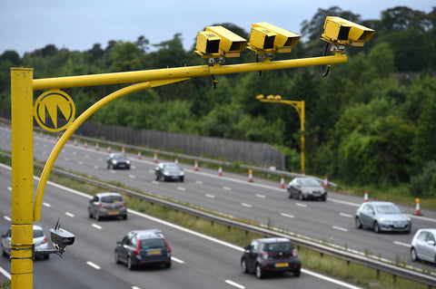 Speed cameras on smart motorways