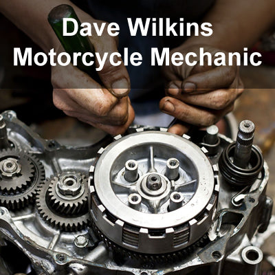 LAM Partner Dave Wilkins Motorcycle Mechanic