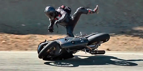 motorcycle high side
