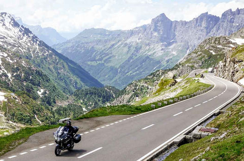 Riding in the Alps