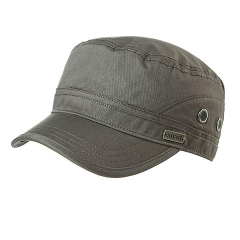 a7745fde SiggiHat Army Caps Spring Military Hat for Men 89614