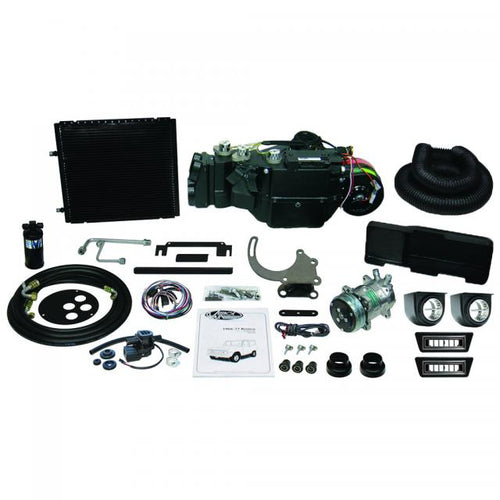 1966-77 Bronco Vintage Air Gen IV SureFit™ Complete Kit with 4-Vent Plenum