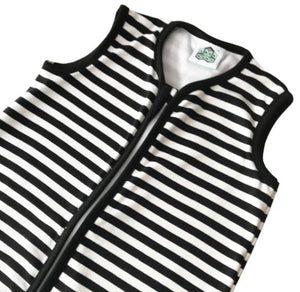 Organic Black and White Sleeping Bag