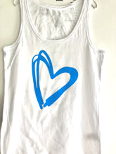 Load image into Gallery viewer, Big Heart Vest Top