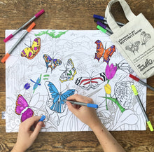 Load image into Gallery viewer, Placemat to Go - Butterfly