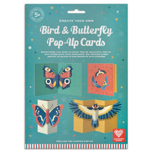 Load image into Gallery viewer, Make your own Bird & Butterfly Pop up Cards