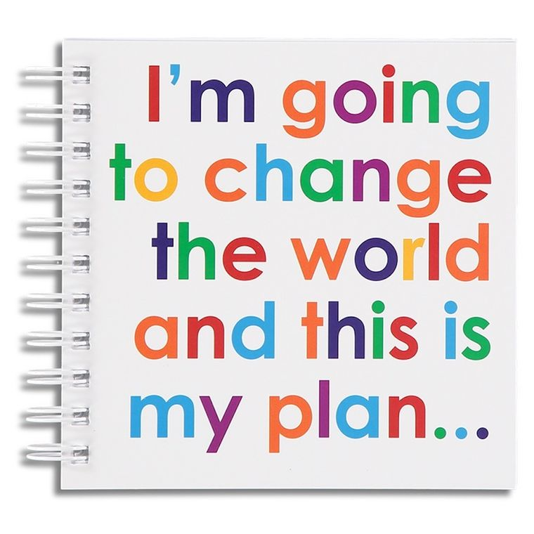 Change the World Doodle pad