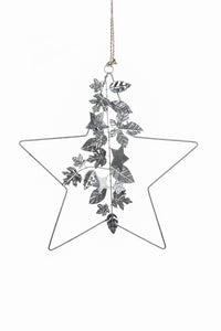 Decorated Silver Star