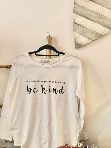 Be Kind Long Sleeved Tee