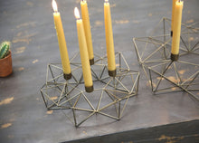 Load image into Gallery viewer, Geometric Candle Holder