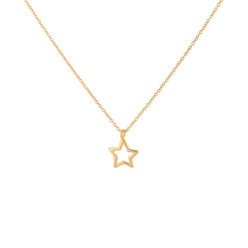 Gold/Silver Star Necklace