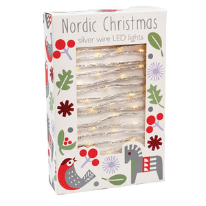 Nordic Silver wire LED lights