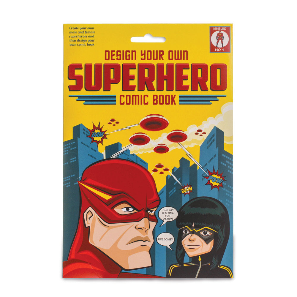 Create your own Super Hero Comic Book
