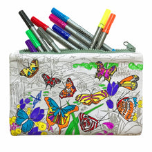 Load image into Gallery viewer, Colour & Learn Butterfly Pencil Case