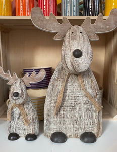 Ronnie the Wooden Reindeer