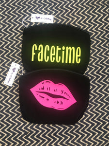 Neon Make Up Bags