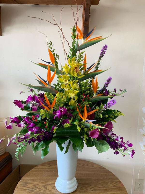 GLW081 - EXOTIC FLOWERS MIX (ORCHIDS)