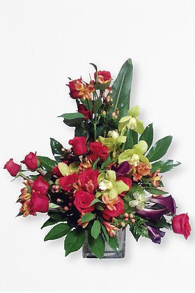 GLW023 - ROSES CALLAS AND SYMBIDIUM