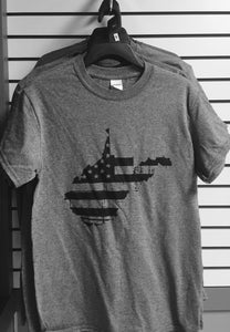 West Virginia Distressed Flag T-Shirt