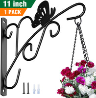 Amagabeli Hanging Plants Brackets 11'' Wall Planter Hooks Hangers for Flower Pot Bird Feeder Wind Chimes Lanterns Patio Lawn Indoor Outdoor-Plant Hook-Amagabeli