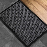 "Amagabeli Large Outdoor Door Mats Rubber Shoes Scraper 18"" x 30"" for Front Door Entrance Outside Doormat-Doormat-Amagabeli"