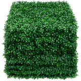 "Amagabeli 4 Layers Leaves Artificial Boxwood Panels Topiary Hedge Plant 12 Pieces 20""x20""-Amagabeli"