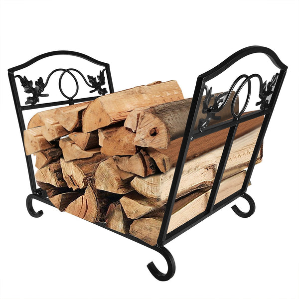 fireplace wood holder basket