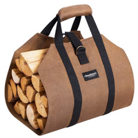 fireplace log tote