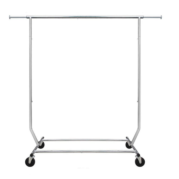Camabel Adjustable Rolling Clothing Garment Rack with Wheels-Garment Rack-Amagabeli