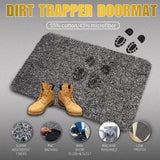 "Indoor Doormat Super Absorbs Mud Dirt Trap Door Mats 18""x28"" by Beau Jardin-Doormat-Amagabeli"