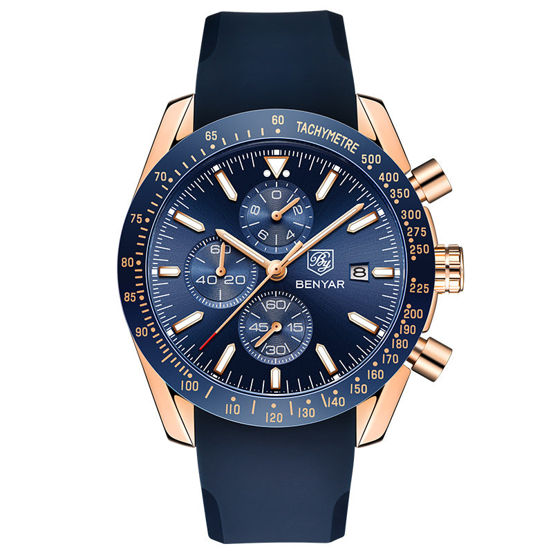 BENYAR Quartz Sports Fashion Trendy Men's Watches
