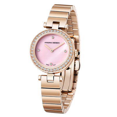 PAGANI Quartz Waterproof Fashion Trendy Ladies Watches