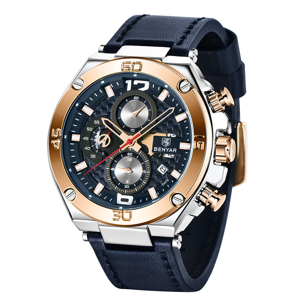 BENYAR Quartz Fashion Waterproof Men's Watches