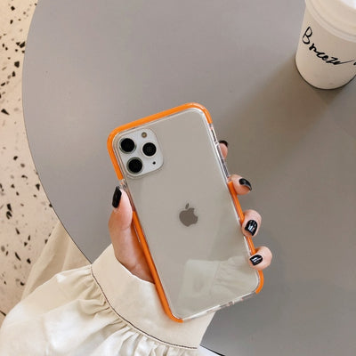 INSNIC Shockproof Candy Color Frame iPhone Case