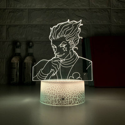 Touch Sensor Anime Hunter X Hunter Decor 3d Lamp
