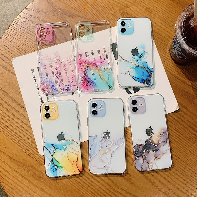 INSNIC Watercolor Painting iPhone Case
