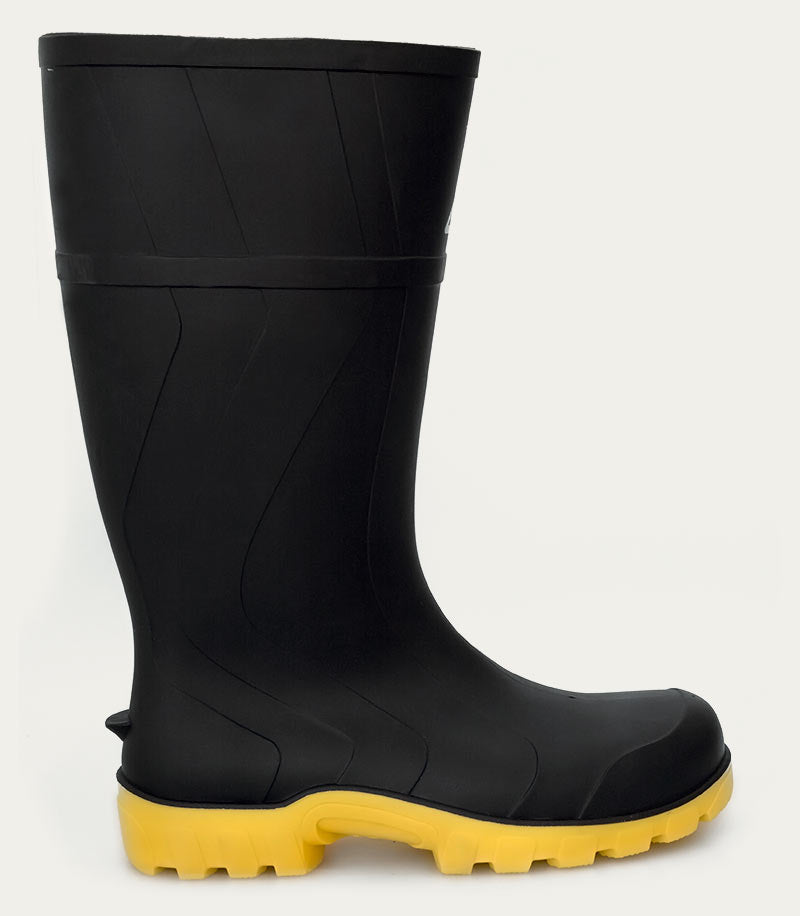 Safemate Black - Yellow Sole