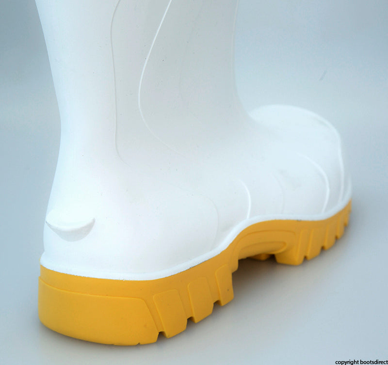 Safemate White - Yellow Sole