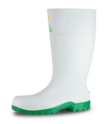 Safemate White - Green Sole