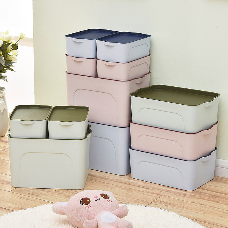 ... Cosmetic Storage Box / Desktop Book DIY Clothing Storage Box ...