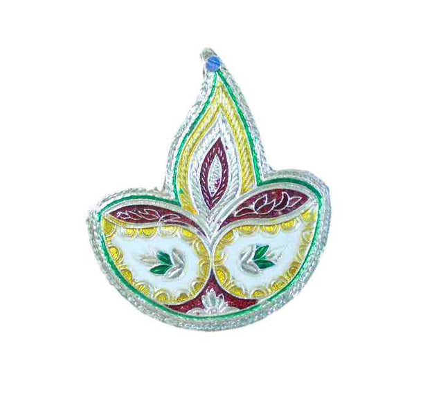 Diya Shaped Plastic Kumkum Box (Default)