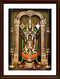 Tirupati Balaji and Sri Lakshmi - Frame