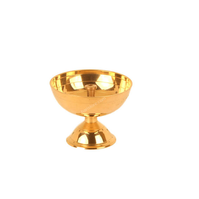 Small Brass Lamp - Striaght wick model