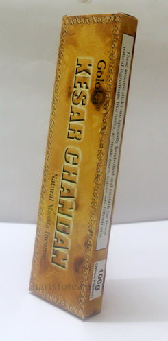 Goloka Kesar Chandan - Natural Masala Incense