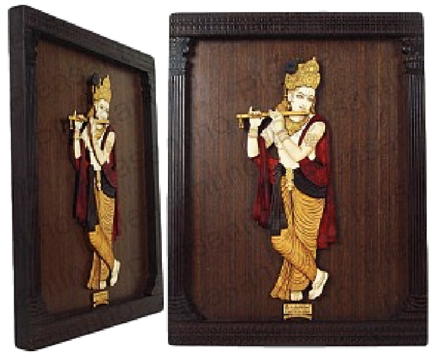 Lord Krishna 3D Pillar Photoframe