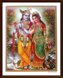 Sri Krishna with Radha - Frame 3