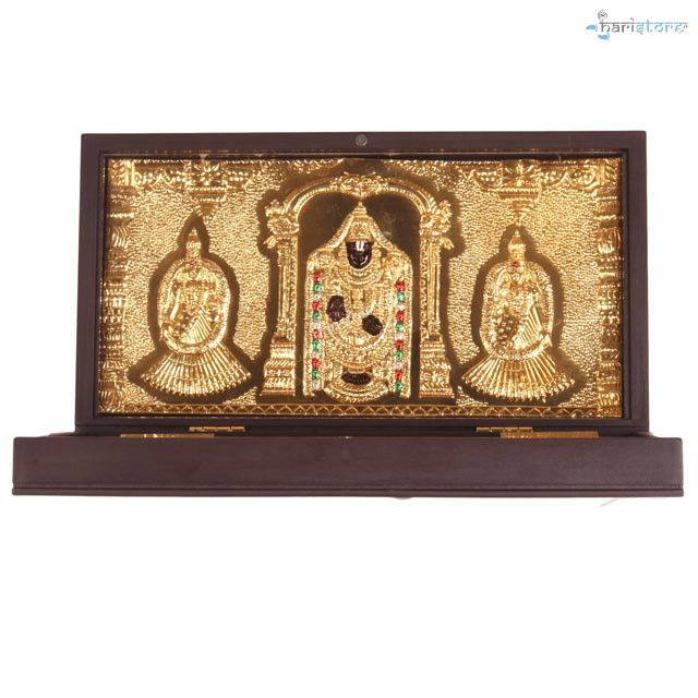 Tirupati Balaji With Sripadam Box - Occasional Gift Box / Offical Gift