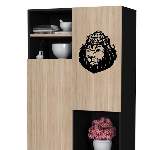 Narasimha Face - Wall Design